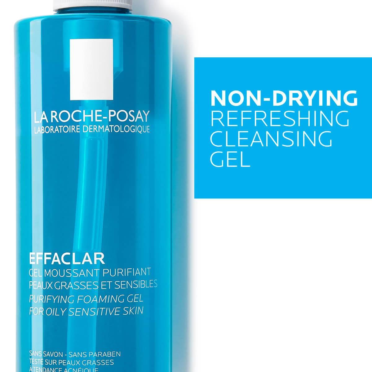 La Roche Posay Produktsida Tendens till akne Effaclar Cleansing Foaming Gel 400ml 3