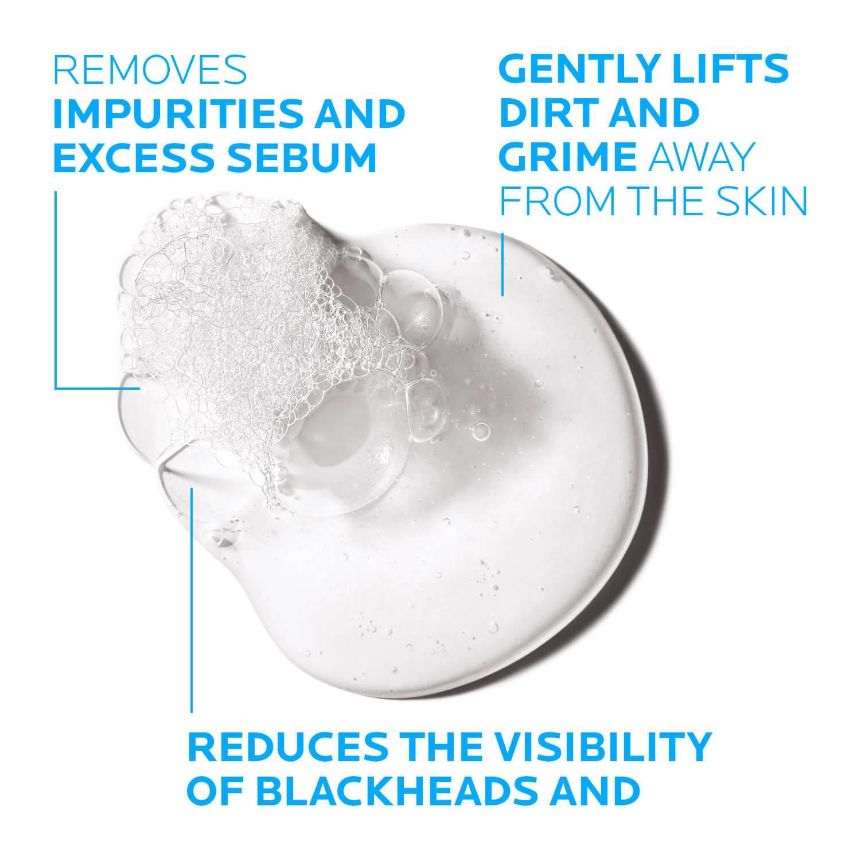 Larocheposay Produktsida Tendens till akne Effaclar Cleansing Foaming gel Texture