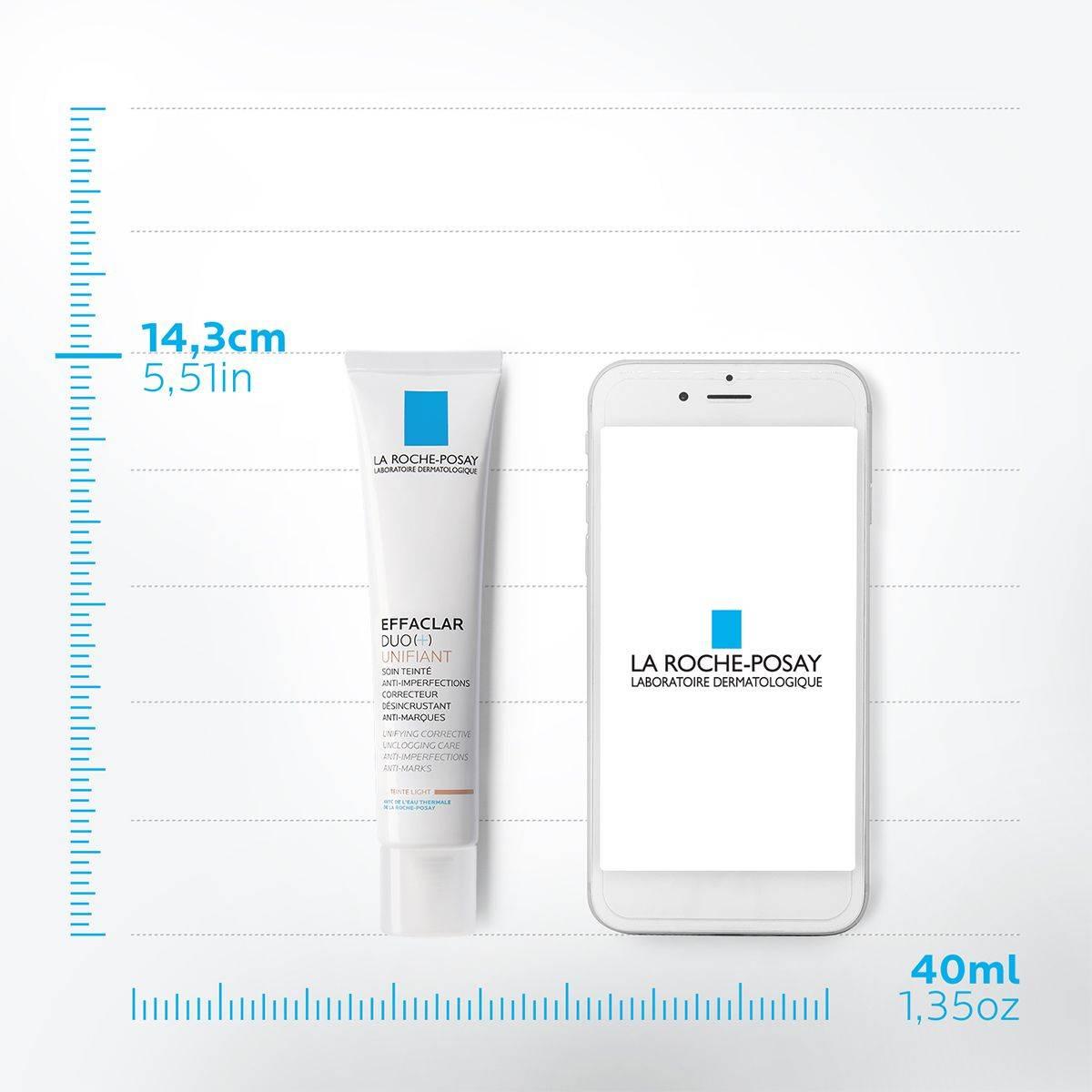 La Roche Posay Ansiktsvård Effaclar Duo plus Unifiant Light 40ml 3337875