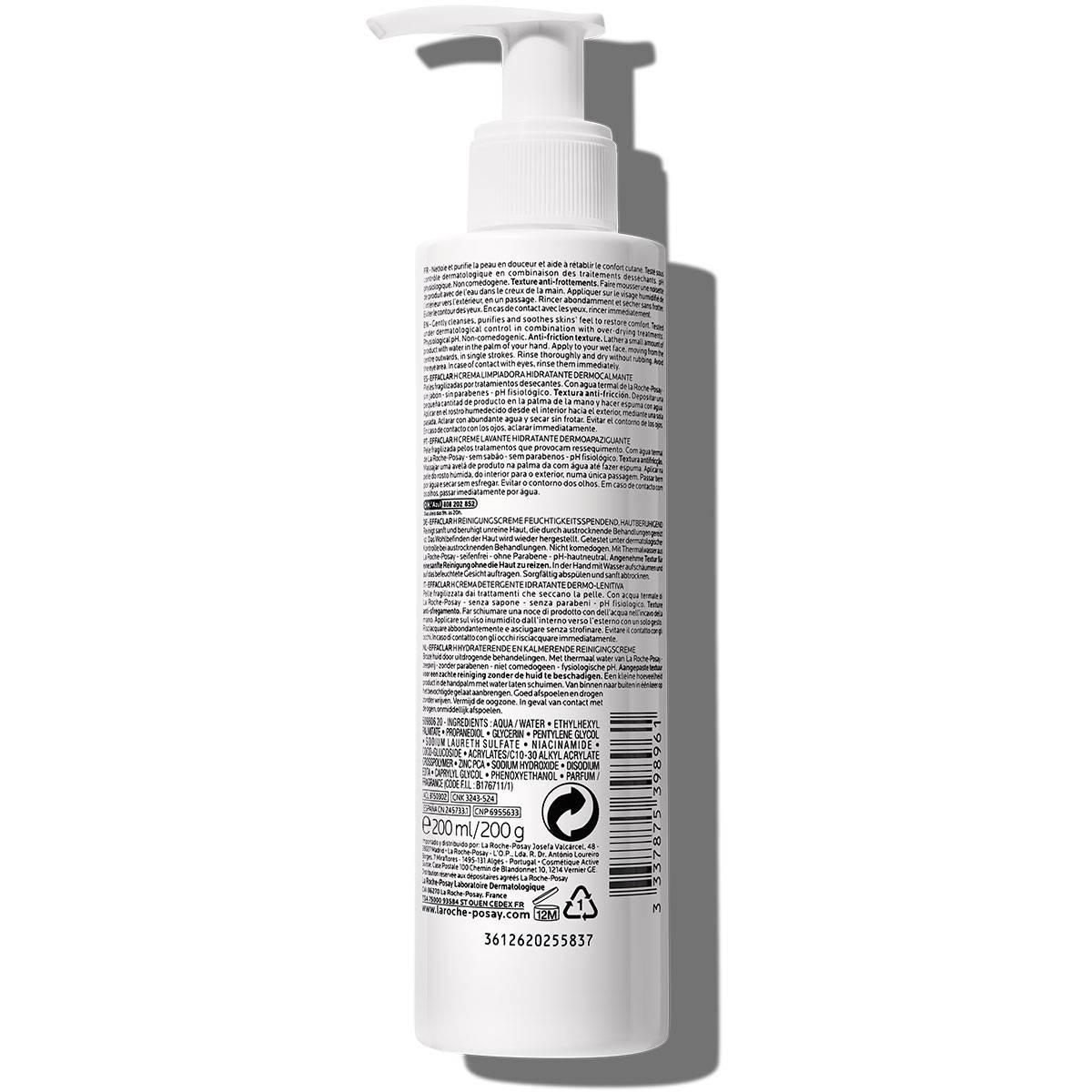La Roche Posay Ansiktsrengöring Effaclar H Cleansing Cream 200ml 33378753