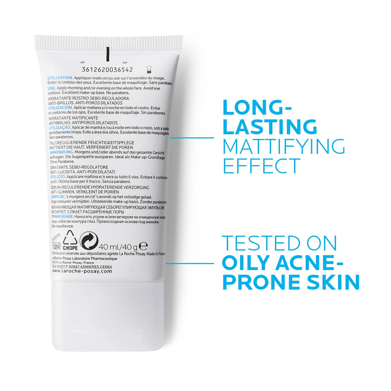 La Roche Posay Produktsida Tendens till akne Effaclar Mat Sebo Controlling 40ml