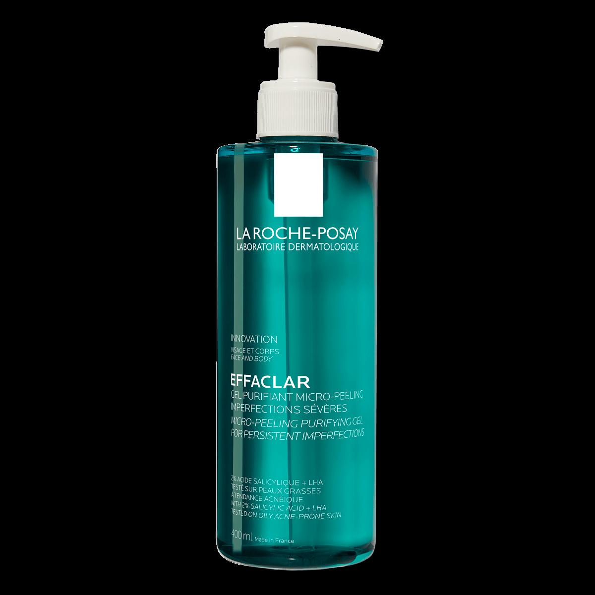 Effaclar Micro Peeling Purifying Gel 400ml 2 % Salicylsyra Fet hud FSS
