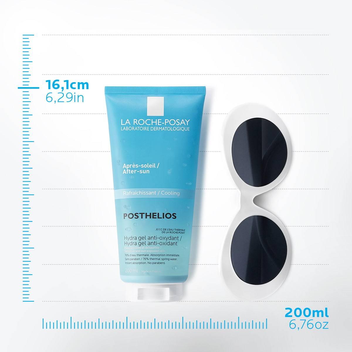 La Roche Posay Produktsida After sun Posthelios Hydragel 200ml 3337875