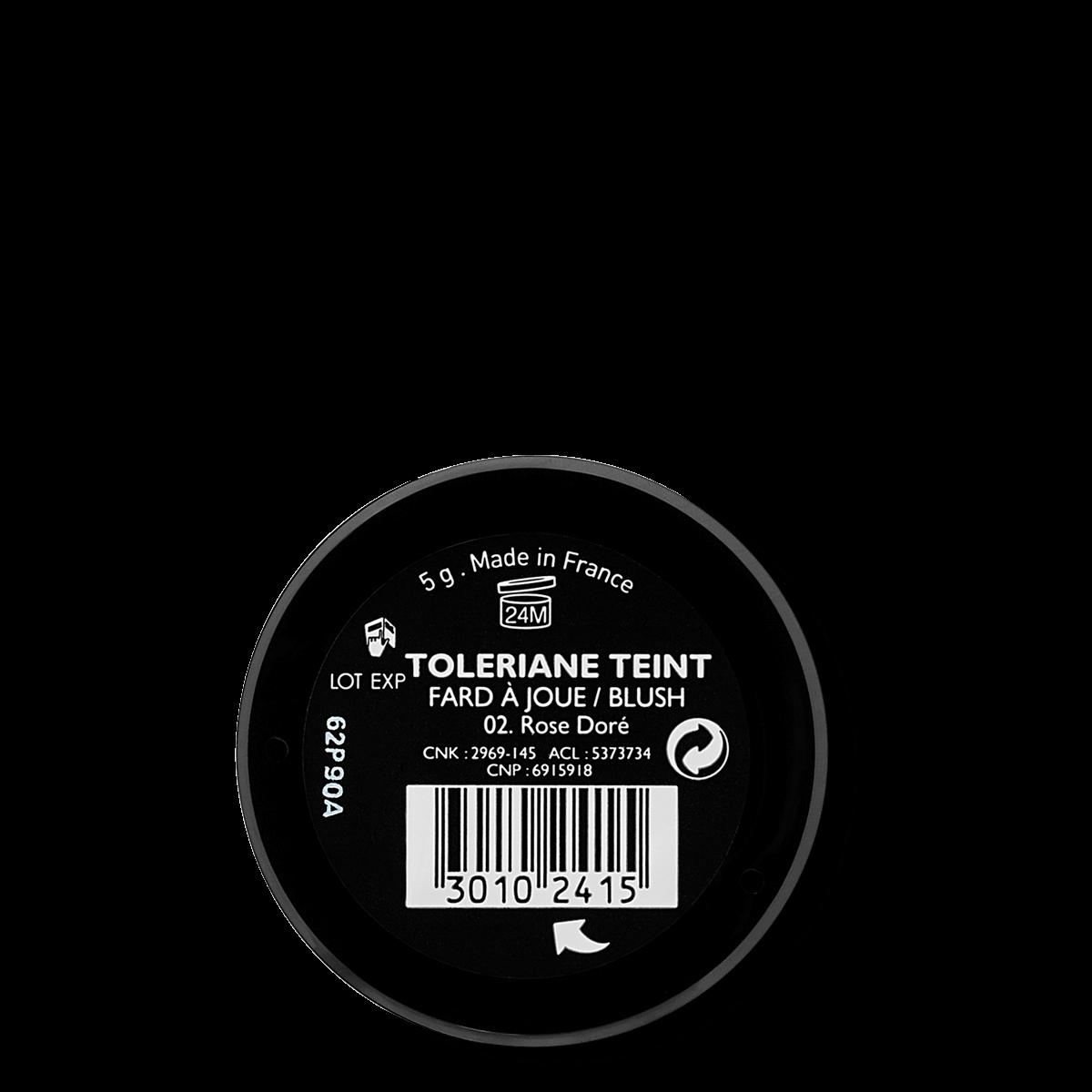 La Roche Posay Känslig Toleriane Make up BLUSH GoldenPink 30102415 B