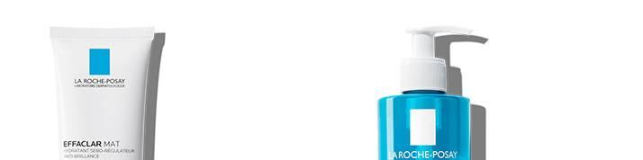 La Roche Posay tendens till akne effaclar sortiment längst ned på sidan