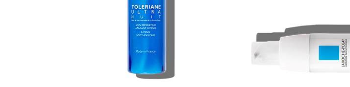 La Roche Posay känslig hud toleriane-sortimentet överst på sidan